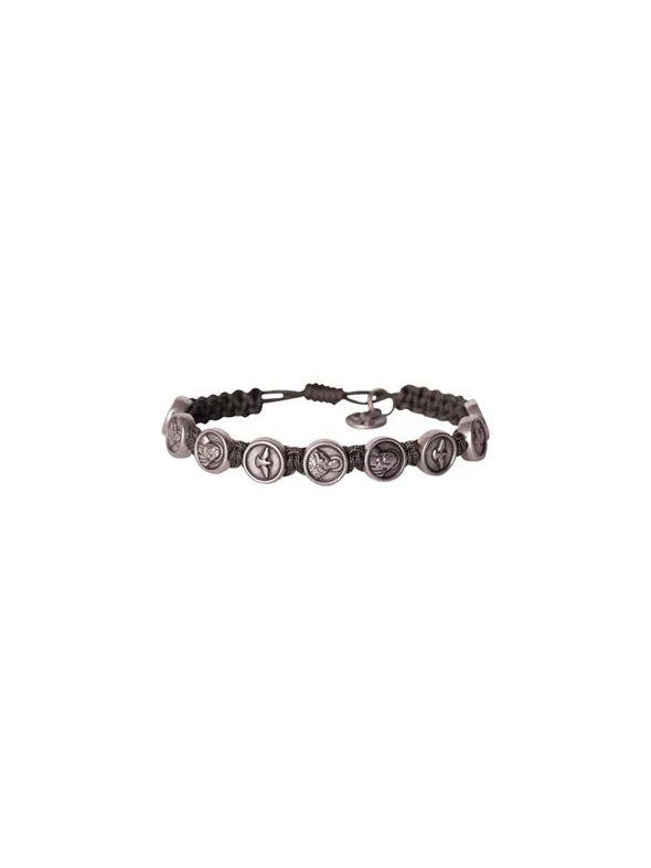 Silver Trinity Bracelet