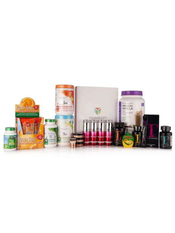 Women's Wellness CEO Mega Pak - Light 2 Mini Kit
