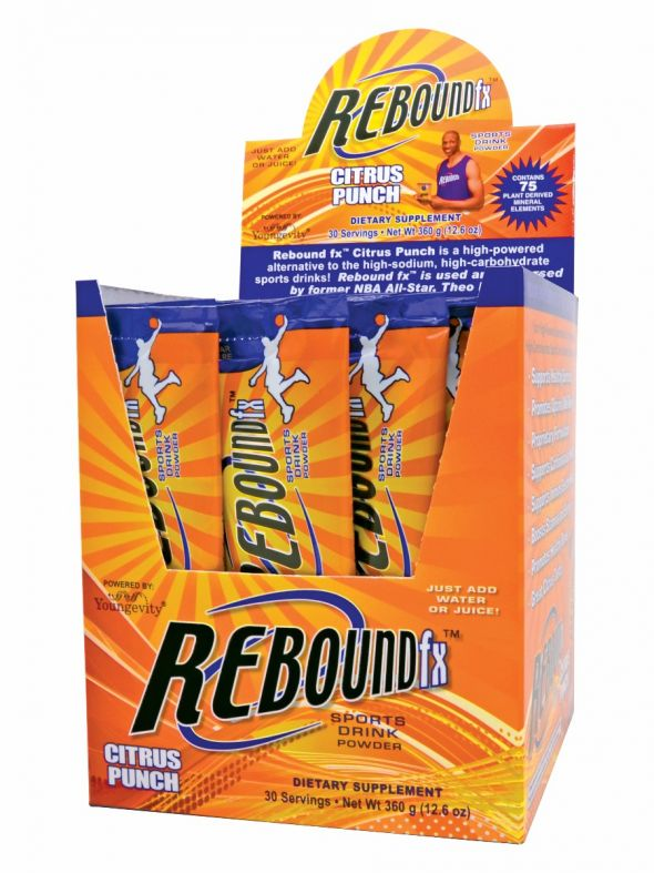 Rebound Fx™ Citrus Punch On-The-Go Stick Packs - 30 Count Box