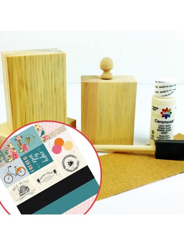 Canvas Set 2 Mantle Block Bundle