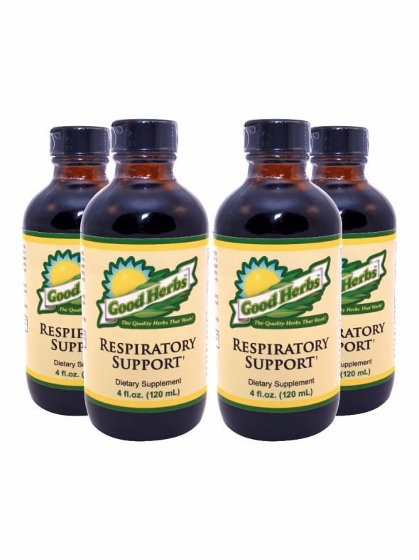Respiratory Support (4oz) - 4 Pack