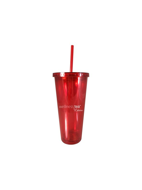 Ice Tea Red Tumbler (20 oz)