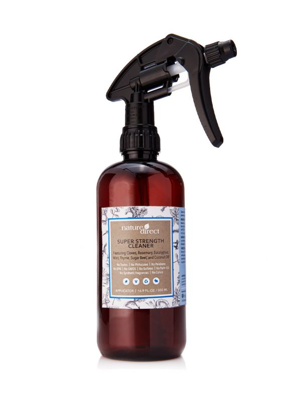 Nature Direct Super Strength Cleaner Applicator Bottle Only - 500ml