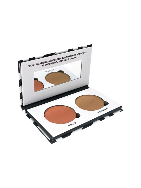 Determined Legacy Collection Blush and Bronzer Duo