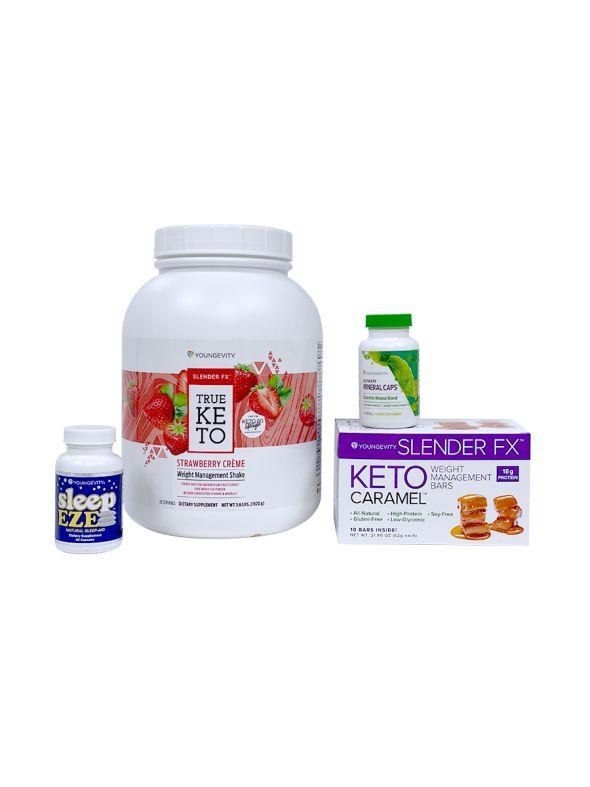 Keto 90 Strawberry Crème Better Health Challenge Pak