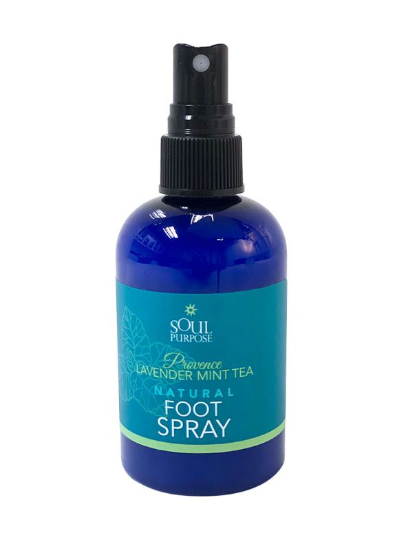 Provence Lavender Mint Tea Natural Foot Spray - 4.43 oz